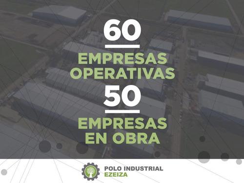 polo industrial ezeiza - autopista ezeiza cañuelas km 41 / camino del buen ayre
