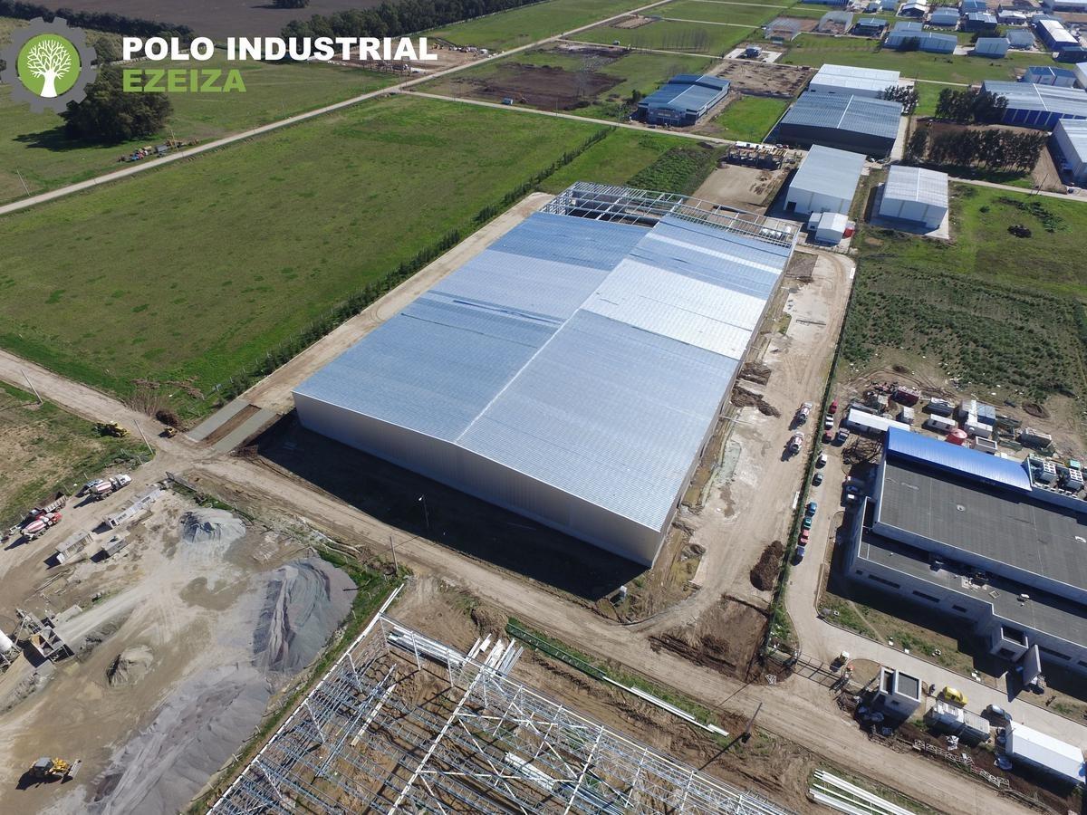 polo industrial ezeiza - nave 6.500 m2 alq/vta