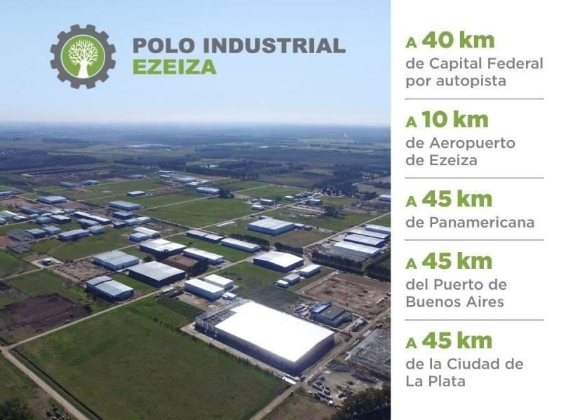 polo industrial ezeiza  -  terreno ezeiza  8000 m2 etapa ii