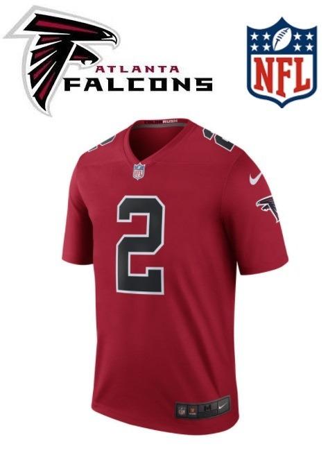 Polo Jersey Atlanta Falcons Marca Nike Nuevos Originales - S  460 fb3c2786cad