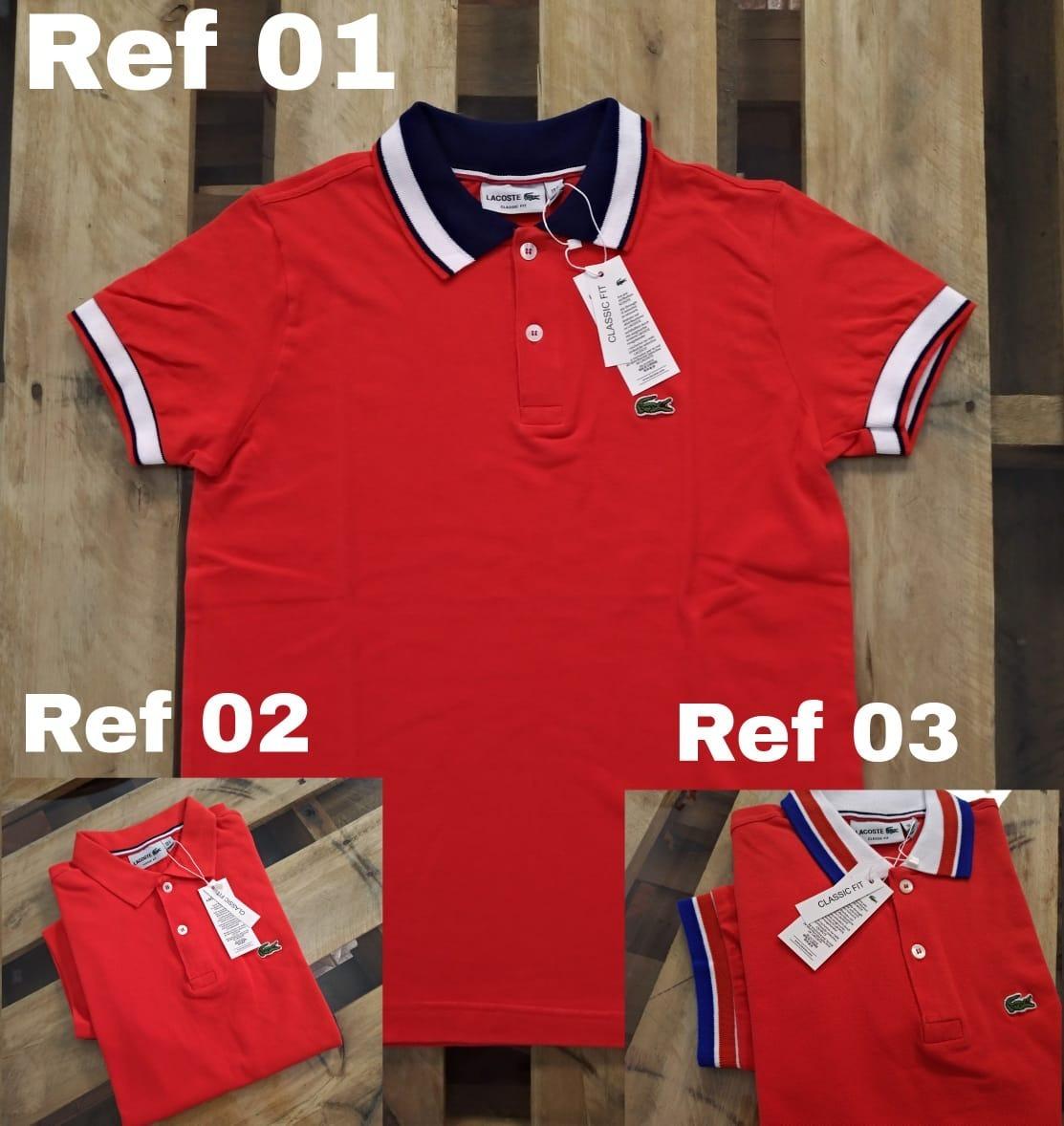 91440b8646140 Polo Lacoste Camisa Peruana Atacado E Varejo Promoção - R  84,90 em ...