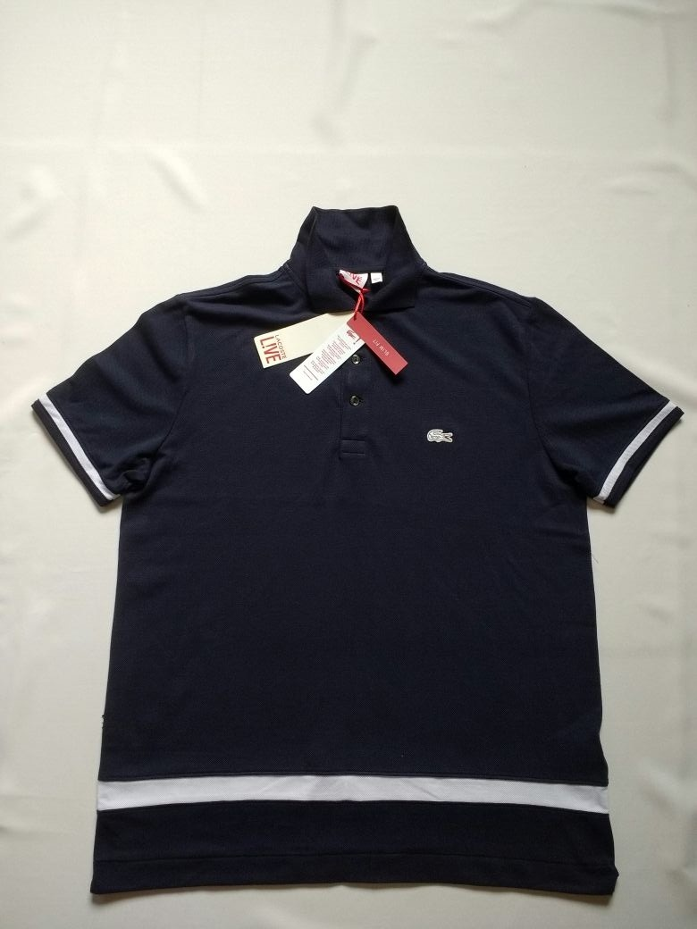 4a9b33b7e1c Polo Lacoste Com Etiquetas E Tags 100% Original Eua Tam Xg - R  169 ...