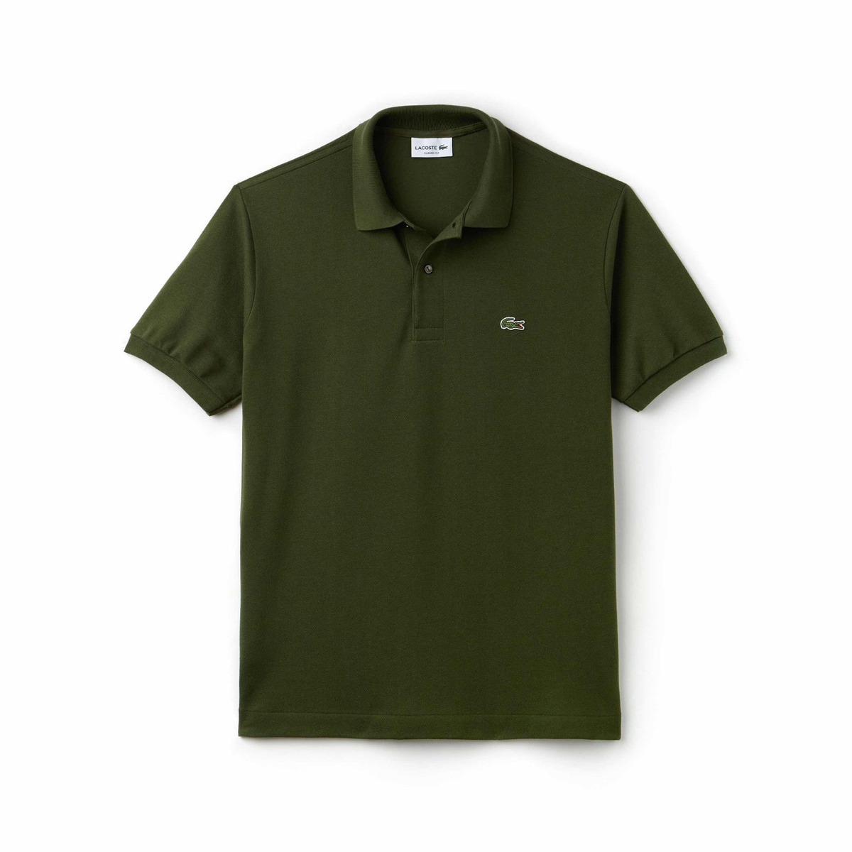 Original L 12 Fit Verde Kaki Classic Polo Lacoste 12 knwO0P