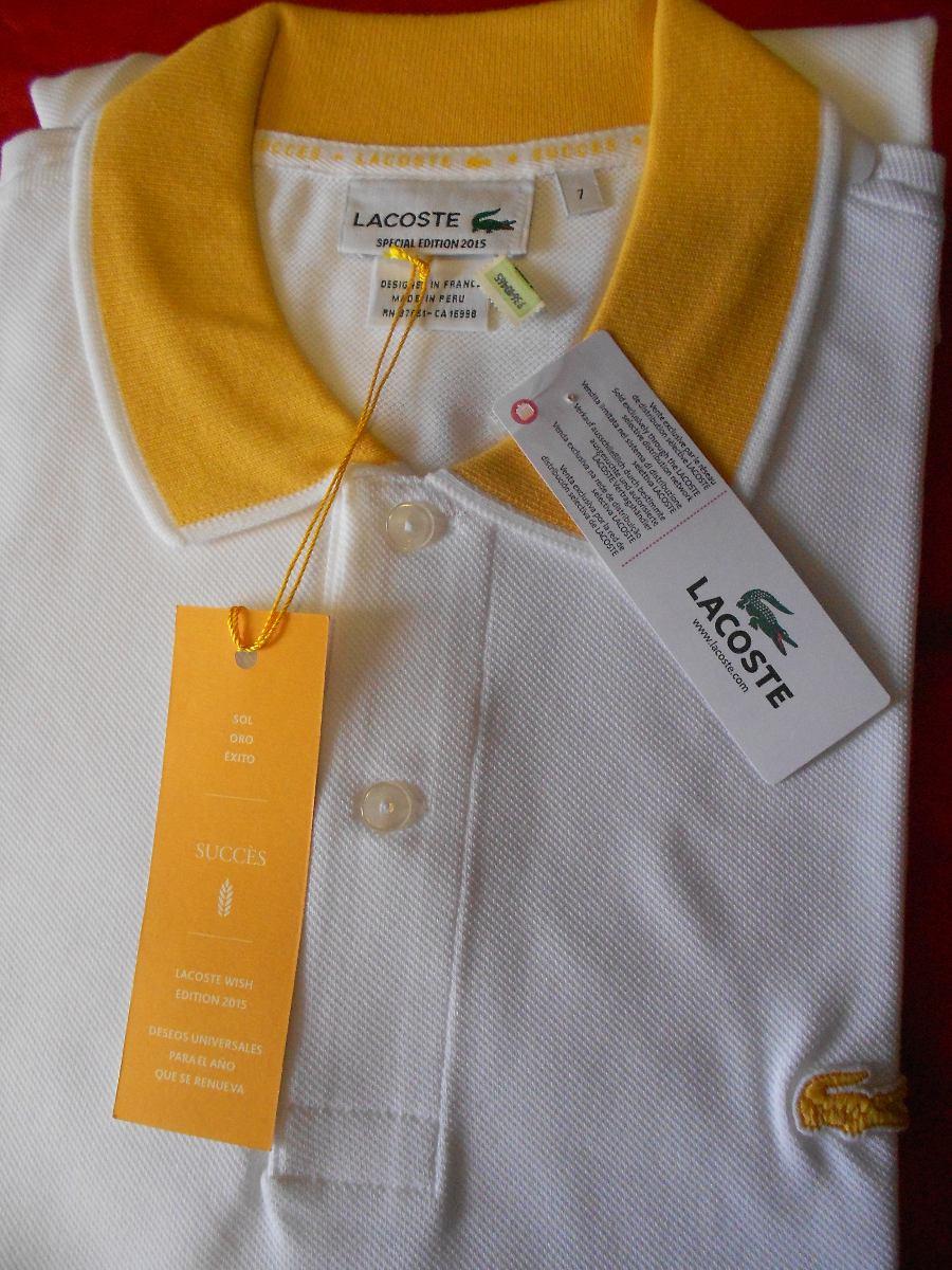 00f684d3269a1 Polo Lacoste Special Edition T7 Original Importado - R  208,36 em ...