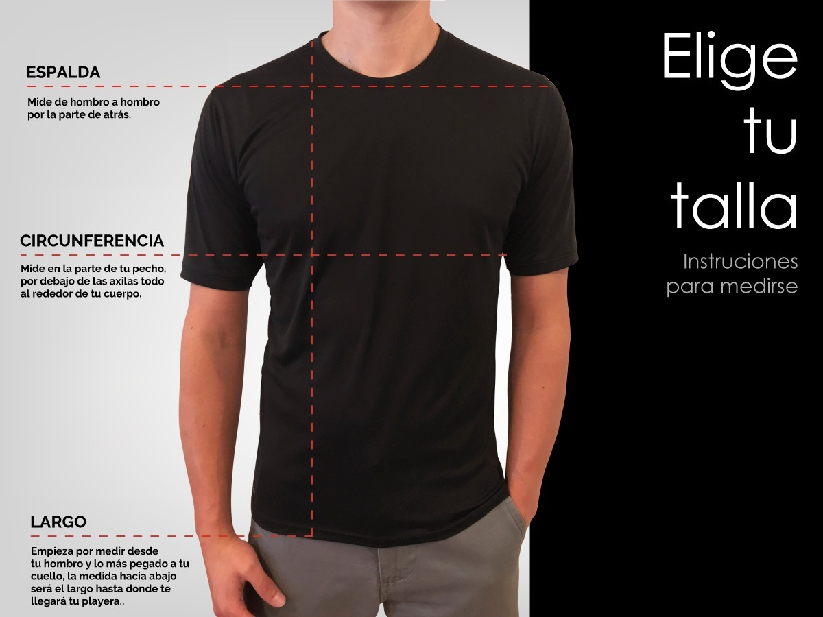 Playera Hombre Tipo Polo Manga Larga Dry Fit Basic -   270.00 en ... e5e701342641f