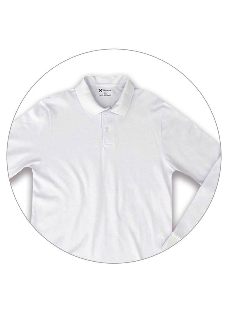 Carregando zoom... manga longa polo. Carregando zoom... camisa polo  masculina manga longa básica hering branca 88191ef54f7ce
