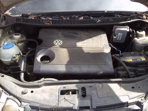 polo p/ peças motor e cambio 1.6 fox golf caixa quadro eixo