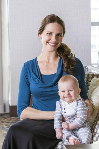 polo para lactancia manga larg/embarazada-ivanitaashion!!