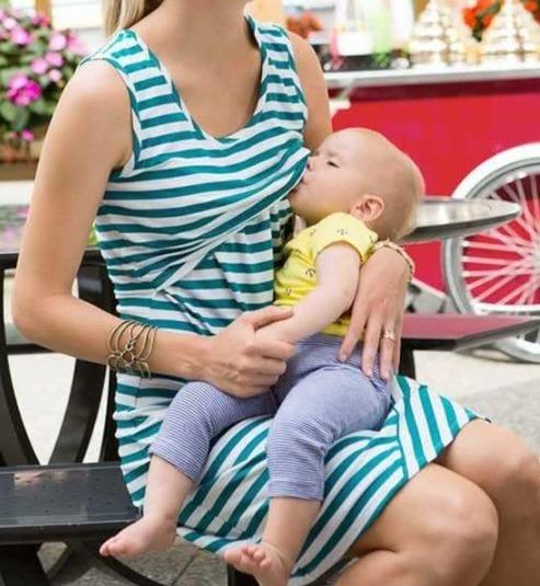 ebfc411d9 Polo Para Lactancia embarazada-ivanitaashion!! - S  65