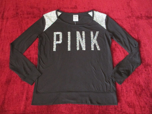polo pink bling victoria secret extra small xs mujer