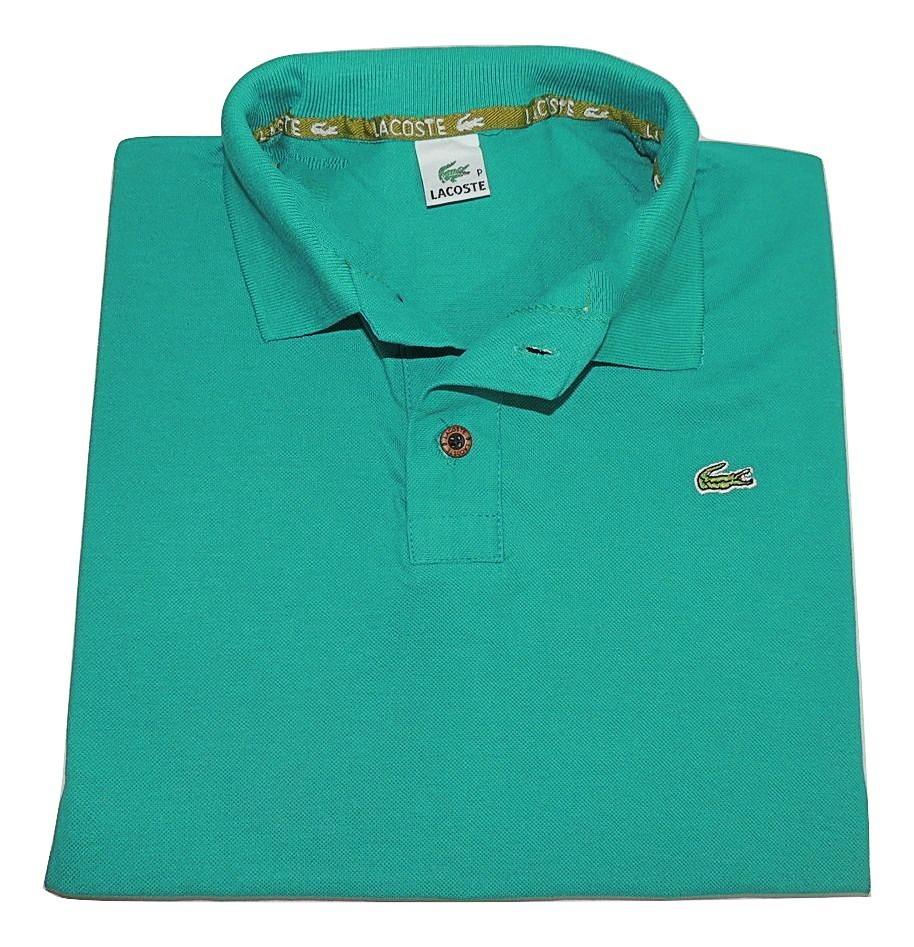 3 Camiseta Polo Basicas Slim Camisa Gola Polo Masculino - R  109,90 ... 6df3eb8210