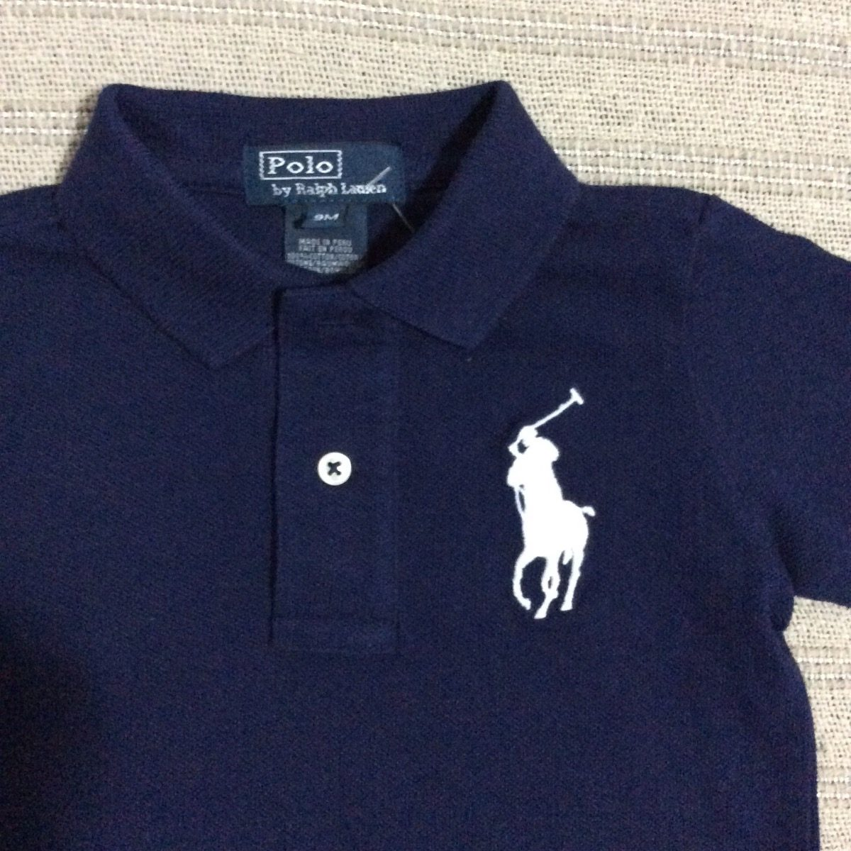 polo ralph lauren bebe camisa polo big pony mangas longas az. Carregando  zoom. c6048081b95