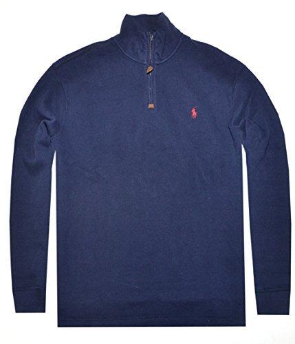 bd0996cd6174 ... germany polo ralph lauren french rib half zip mock neck pullover h  f4b2e 983dc