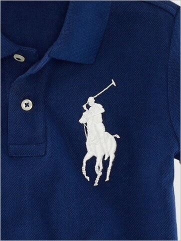4b54f92744 ... 7cc026fbef3 Polo Ralph Lauren Infantil Camisa Polo Big Pony Azul  Marinho - R ..
