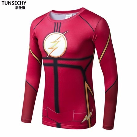 polo rashguard flash  ¡exclusivo!