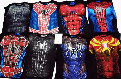 polo spiderman importado todas las tallas