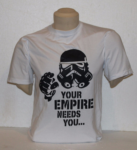 polo star wars - modelo you empire needs you talla s