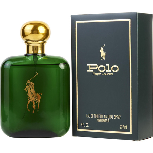 polo verde hombre 8oz (237.ml) sellada original