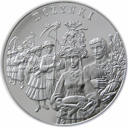polonia 20 zloty plata- harvest festival