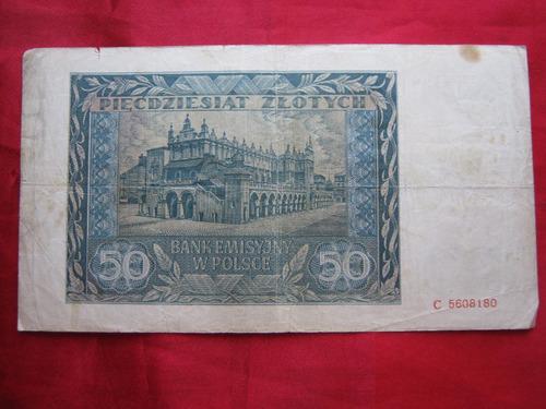 polonia 50 zloty 1941