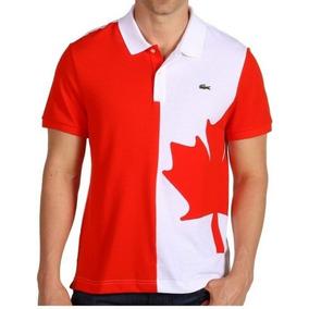 2fbe832f536 Camisa Polo Lacoste Países - Original