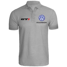 f2ba10932dfca Camisa Camiseta Polo Volkswagen Gti Carro Customizada
