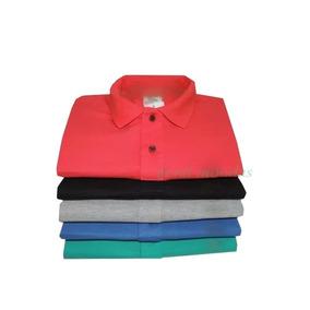 d15a48f1f6fe3 Kit 4 Camisas Plus Size Masculina Gola Polo Xg Xgg Xxg