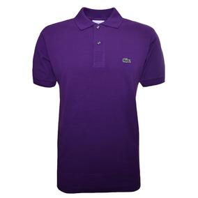 3d00febbbb7af Camisa Polo Lacoste Original Roxo