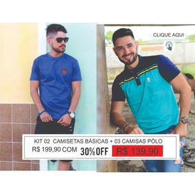 c9ed56ae343da Kit 30 Camisas Polo - Pólos Manga Curta Masculinas no Mercado Livre ...