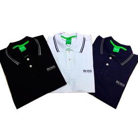3eca626662846 Kit 3 Camisas Pólo Hugo Boss Frete Grátis!