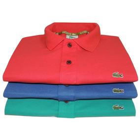 5b5129d299be3 Kit 3 Camisas Polo Camisetas Blusa Masculina Promoção