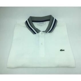 915bba98fb7be Camisa Polo Lacoste Branca N - Pólos no Mercado Livre Brasil