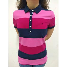 5c8b1078cb518 Camisa Polo Feminina Tommy Hilfiger Manga Curta Original. R  149