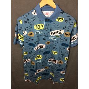 f1c55e8df3a7f Camisa Masculina Lacoste Tam Infanto Juvenil - Calçados