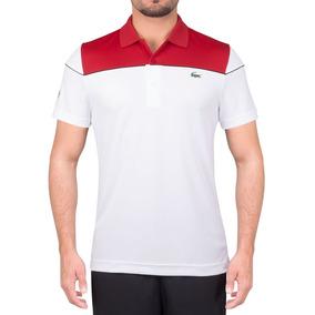 7f24964035ee1 Camisa Polo Lacoste Regular Fit Dh4121 Vermelha E Branca · R  279 90