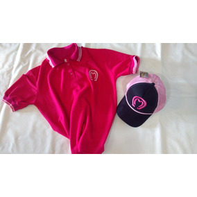 68419afc55467 Kit Feminino Boné Preto E Rosa E Camisa Mangalarga Ofertaço