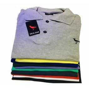 6a39e1b2d8b56 Kit 5 Camiseta Polo Masculina  Pronta Entre  Atacado Revenda
