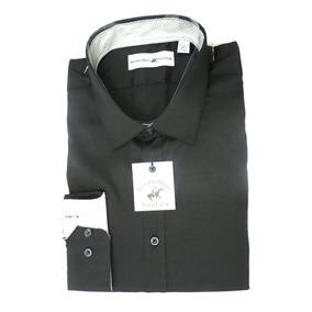 b20319e857e57 Camisa Beverly Hills Polo Club Social Preta