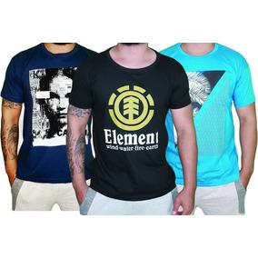 2b0a3edd332a6 Kit 15 Camisetas Camisa Blusa Masculina Multimarcas Atacado