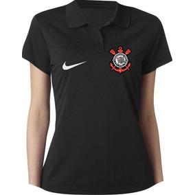 c9cea979dca9b Camisa Polo Feminina Corinthians Baby Look Especial