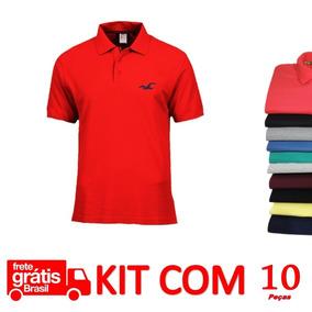 4e3738867b164 Camisa Gola Polo Roupa Masculina Camisa Polo - Pólos Manga Curta ...