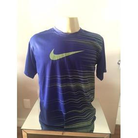 098f099c6d09e Camisa Nike - Dry Fit - Tam Gg - Preta Ou Azul - Original