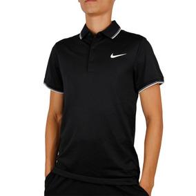 77d0c59a5d842 Camisa Polo Nike Court Preta E Vermelha - Calçados