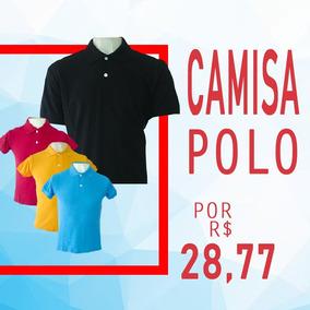 27d85ecbae98d Camisa Polo Em Piquet 50% Algodão 50% Poliester Uniformes - Pólos ...