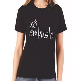 8f5d96f25 Camisa Camiseta Baby Look Feminino Xó Embuste Manga Curta