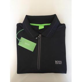 72e7a1704cc8e Camisa Polo Ziper - Pólos Manga Curta Masculinas no Mercado Livre Brasil