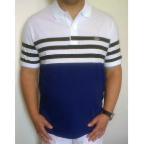 c08e2d16fbef4 Kit 5 Camisas Lacoste - Pólos no Mercado Livre Brasil