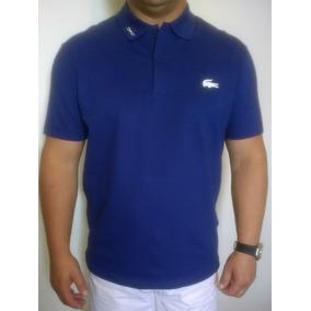 2fdab73f1d63e Camisa Polo Lacoste Slim Fit Masculina Big Crock Borracha