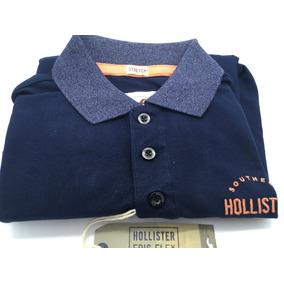 76921e159111a Camisa Polo Hollister 100% Original Importada Estados Unidos