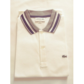 04a13ef2ce3c8 Camisa Polo Lacoste Masculina Slim Fit Pitit Piquet
